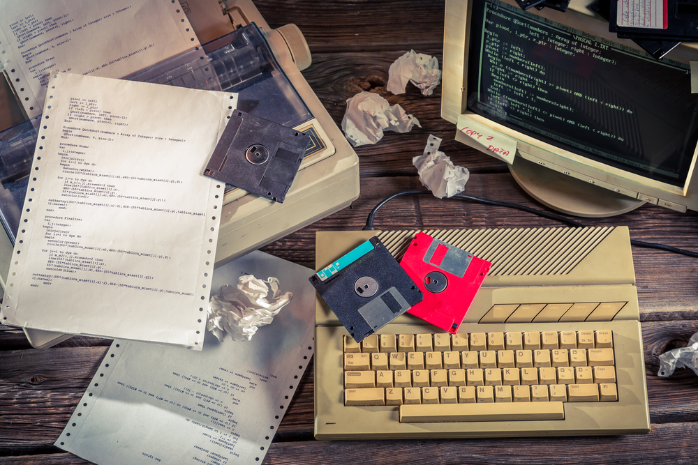 The building digital industry is still living in the era of the floppy disk